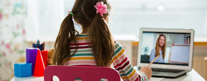 Remote distance learning for students