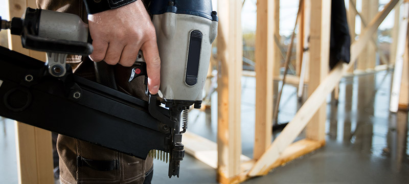A Nail Gun Can Be A Flying Object Hazard