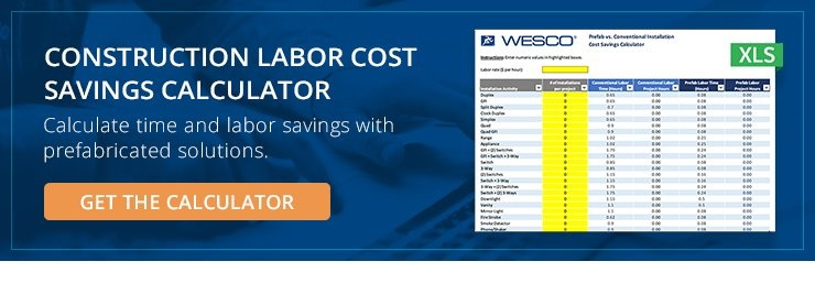 Construction Labor Cost Savings Calculator