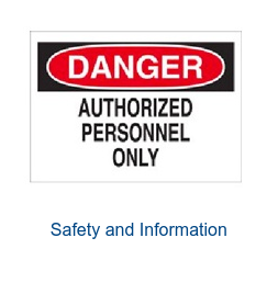 Safety and Information