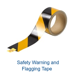Safety Warning and  Flagging Tape