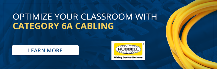 Optimize Your Classroom with Category 6A Cabling