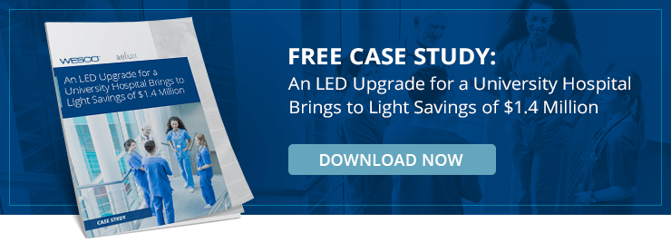Free Case Study: An LED Upgrade for a University Hospital Brings to Light Savings of $1.4 Million